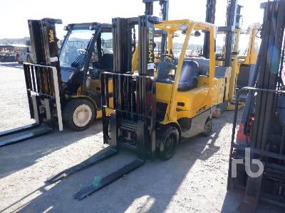 2011 HYSTER S60FT 5750 Lb Forklift