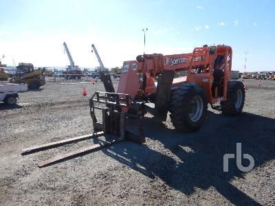 2012 JLG 10054 10000 Lb 4x4x4 Telescopic Forklift