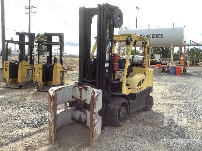 Hyster S155FT 9000 lb Cushion Tire Forklift