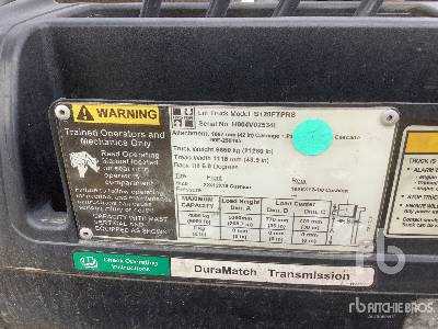 Hyster S120FT 9000 lb Cushion Tire Forklift
