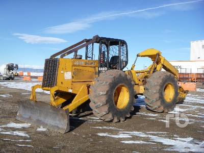 1988 JOHN DEERE 648D 4x4 Grapple Skidder