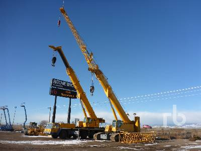 2007 LIEBHERR LTR1100 110 Ton Self-Erecting Crawler Crane