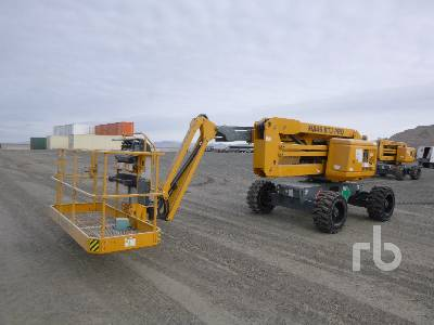 2018 HAULOTTE HA46RTJ PRO 4x4x4 Articulated Boom Lift