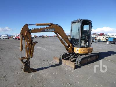 2007 CASE CX36B Mini Excavator (1 - 4.9 Tons)