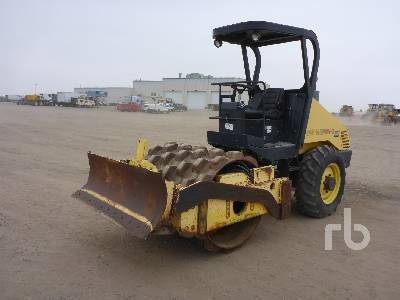 2008 BOMAG BW145PDH-3 Vibratory Padfoot Compactor