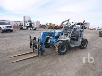 2014 TEREX GTH-5519 5500 Lb 4x4x4 Telescopic Forklift