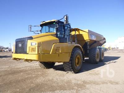 2018 CATERPILLAR 745 6x6 Articulated Dump Truck