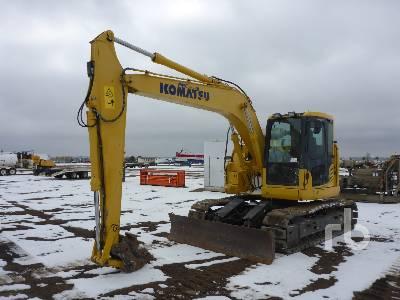 2014 KOMATSU PC138USLC-10 Hydraulic Excavator