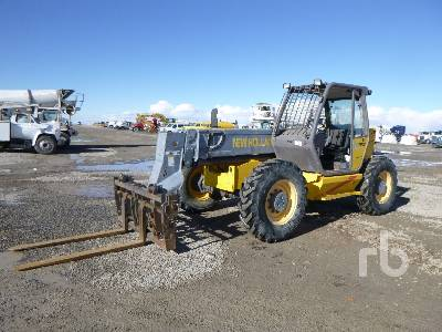 1999 NEW HOLLAND LM850 6300 Lb 4x4x4 Telescopic Forklift