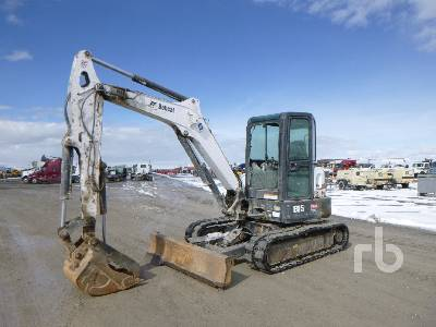 2016 BOBCAT E55 Mini Excavator (1 - 4.9 Tons)