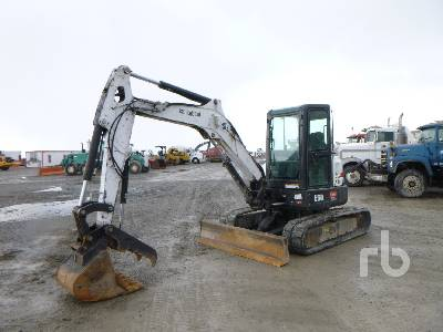 2015 BOBCAT E50M Mini Excavator (1 - 4.9 Tons)