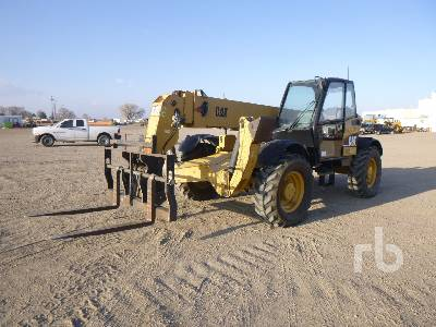2006 CATERPILLAR TH560B 10000 Lb 4x4x4 Telescopic Forklift