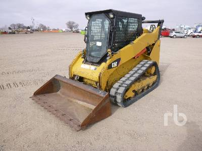 2012 CATERPILLAR 259B3 Compact Track Loader