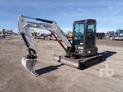 2014 BOBCAT E35 Mini Excavator (1 - 4.9 Tons)