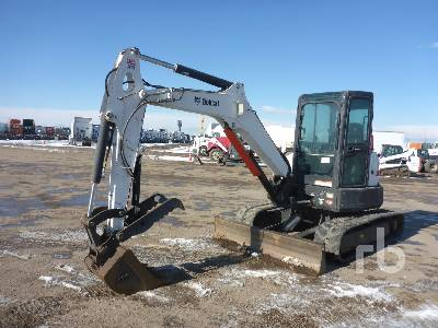 2014 BOBCAT E50 Mini Excavator (1 - 4.9 Tons)