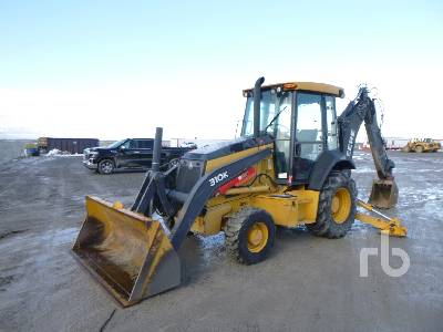 2013 JOHN DEERE 310K 4x4 Loader Backhoe