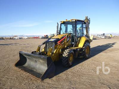2019 CATERPILLAR 420F2IT 4x4 Loader Backhoe
