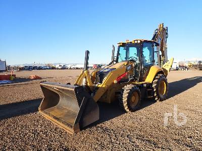 2019 CATERPILLAR 450 4x4 Loader Backhoe