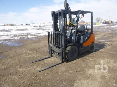 2011 DOOSAN G25P-5 4600 Lb Forklift