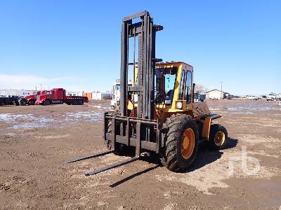 2000 LIFT KING 6000 Lb Rough Terrain Forklift