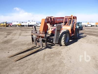 2007 SKYTRAK 10054 10000 Lb 4x4 Telescopic Forklift