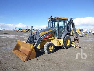 2015 JOHN DEERE 310K 4x4 Loader Backhoe