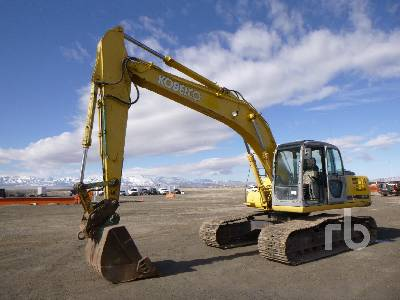 2000 KOBELCO SK210LC Hydraulic Excavator