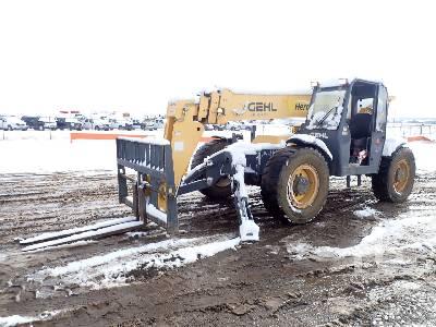 2014 GEHL RS10-55 10000 Lb 4x4x4 Telescopic Forklift