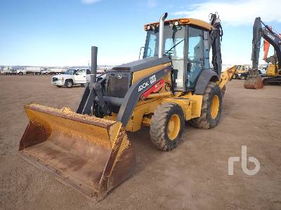 2014 JOHN DEERE 410K 4x4 Loader Backhoe