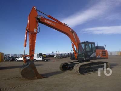 2017 HITACHI ZX300LC-6N Hydraulic Excavator
