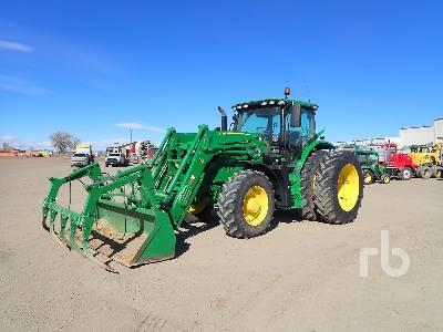 2016 JOHN DEERE 6155R MFWD Tractor