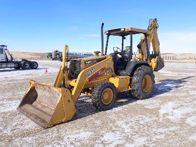 1998 JOHN DEERE 310SE 4x4 Loader Backhoe