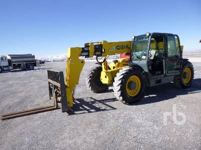 2007 GEHL DL12H40 12, 000 lb 4X4X4 12000 Lb 4x4x4 Telescopic Forklift