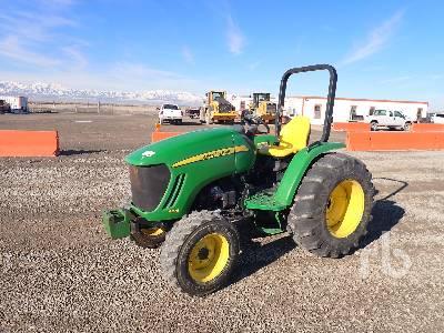 2012 JOHN DEERE 4105 4WD Utility Tractor