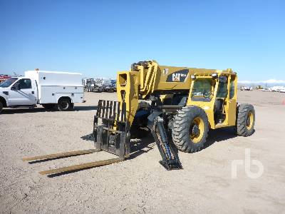 2008 CATERPILLAR TL1255 12000 Lb 4x4 Telescopic Forklift