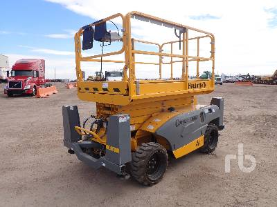 2017 HAULOTTE 3368 RT 33.3 Ft Scissorlift