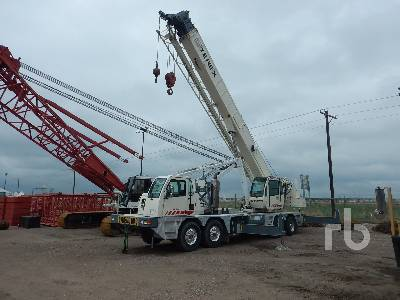 2007 TEREX T560-1 60 Ton Hydraulic Truck Crane