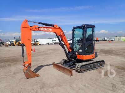 2014 HITACHI ZX35U-5N Mini Excavator (1 - 4.9 Tons)
