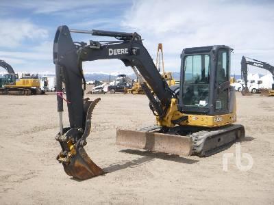 2012 JOHN DEERE 60D Midi Excavator (5 - 9.9 Tons)