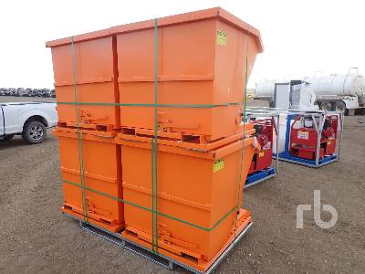 Unused SUIHE Qty Of 4 38.5 In. x 3 Ft 6 In. Container Equipment - Other
