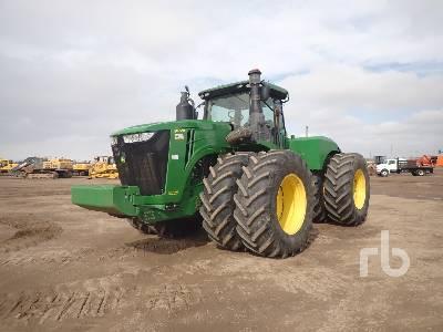 2015 JOHN DEERE 9570R Scraper Special 4WD Tractor