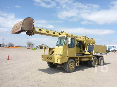2001 GRADALL XL4100 T/A Mobile Excavator