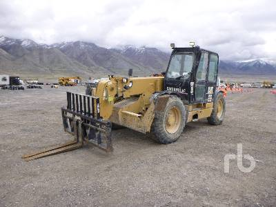 2001 CATERPILLAR TH103 10000 Lb 4x4x4 Telescopic Forklift