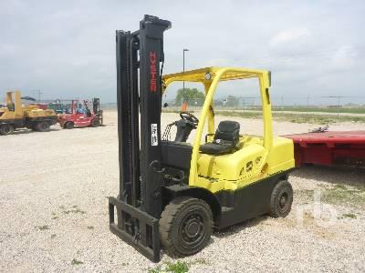 2013 HYSTER H80FT 8000 Lb Forklift