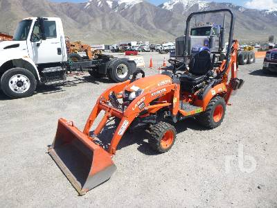 2017 KUBOTA BX23S 4WD Utility Tractor