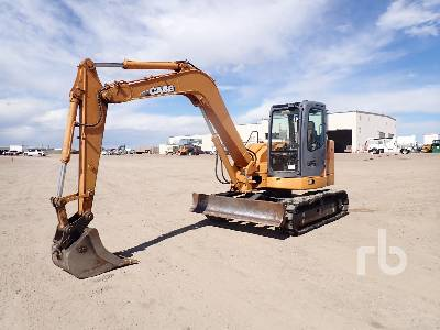 CASE CX80 Midi Excavator (5 - 9.9 Tons)