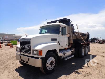 2001 MACK CH613 Rock Bed Dump Truck (T/A)