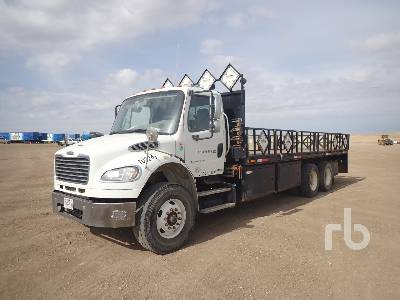 2012 FREIGHTLINER M2106 T/A Flatbed Truck