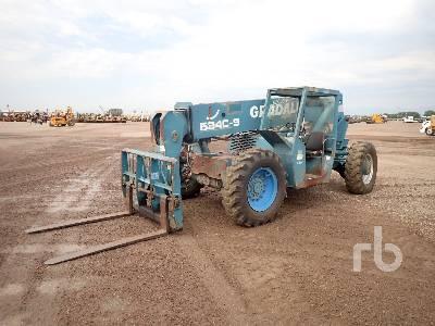 1997 GRADALL 534C-9 9000 Lb 4x4 Telescopic Forklift