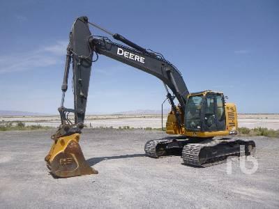 2014 JOHN DEERE 245G Hydraulic Excavator